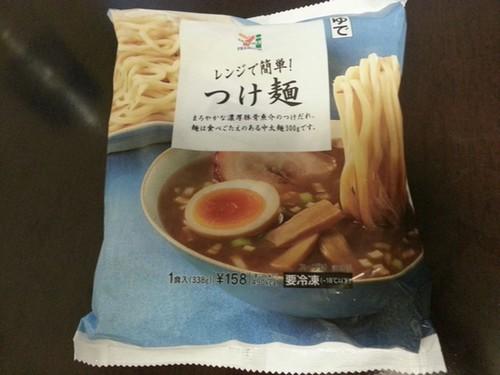 セブンイレブンつけ麺