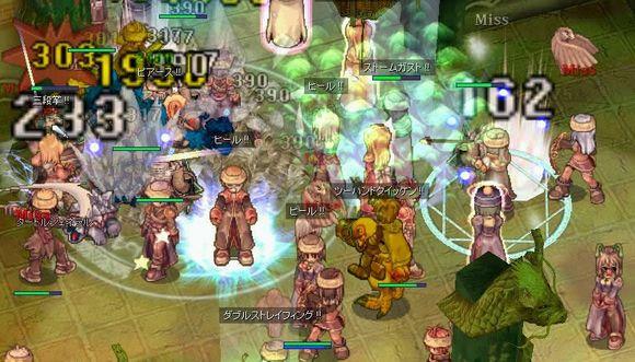 オンラインゲーム画面