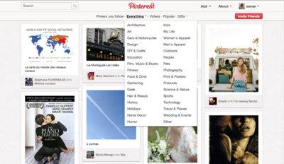 Pinterestのイメージ
