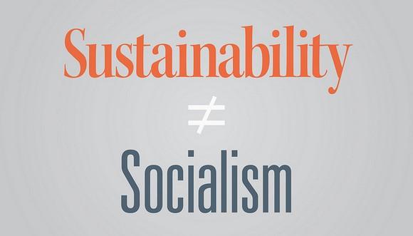持続可能性not社会主義