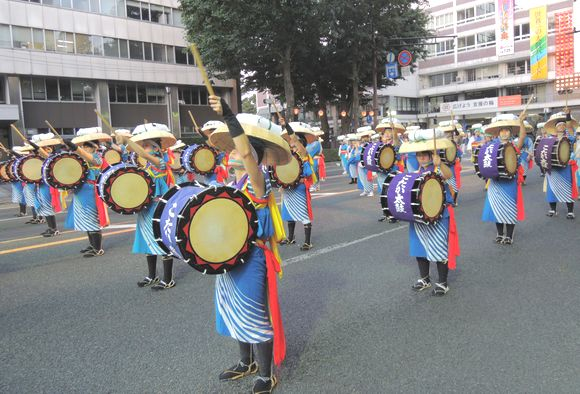 2013盛岡さんさ踊りこたか太鼓