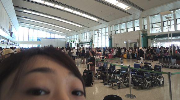 Uターンラッシュの那覇空港
