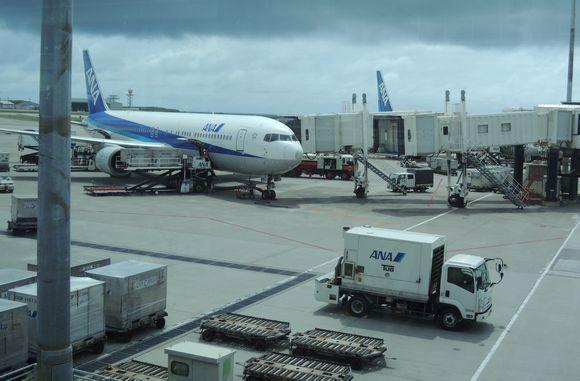 那覇空港の混雑