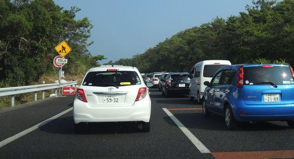 那覇市内の混雑渋滞