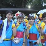 2013年盛岡さんさ踊りパレード1日目が大変なことに