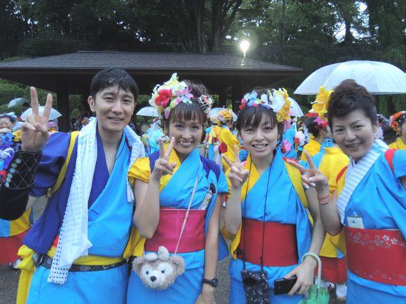 2013年盛岡さんさ踊り初日
