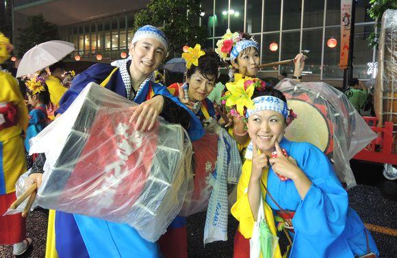 2013盛岡さんさ踊りパレード初日終了