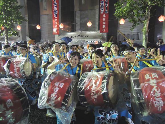 2013年盛岡さんさ踊り初日終了
