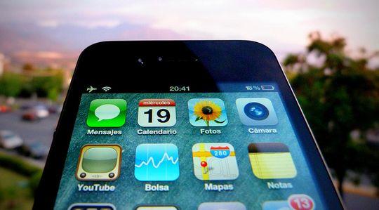 iPhone通信