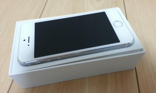 iPhone5s入荷開封