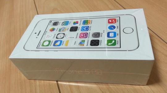 iPhone5sのau入荷