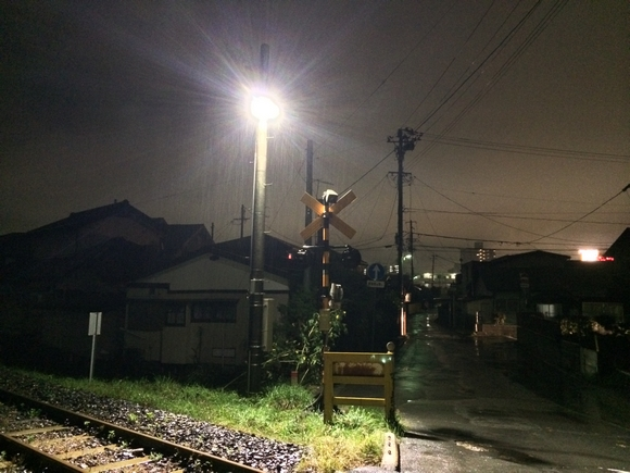 iPhone5sカメラ夜景撮影