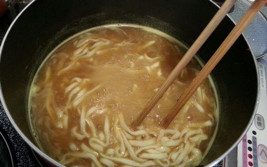 正麺カレーうどん