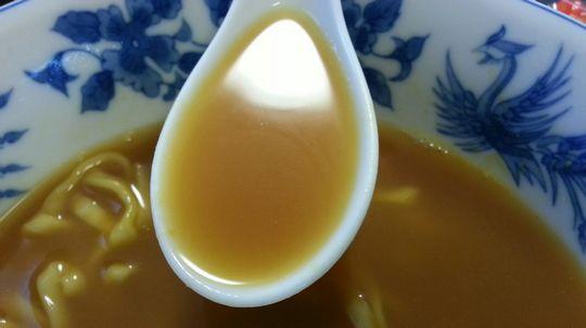 正麺カレーうどんスープ。