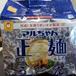 マルちゃん正麺「うどん」を食べてみた