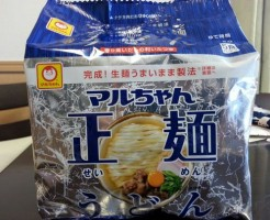 マルちゃん正麺うどん1