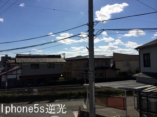 iPhone5sカメ逆光撮影
