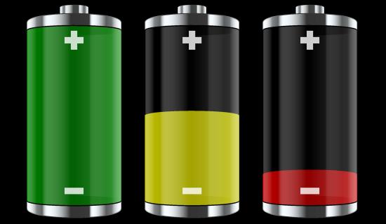 iphone5sとXperiaZ1バッテリー比較