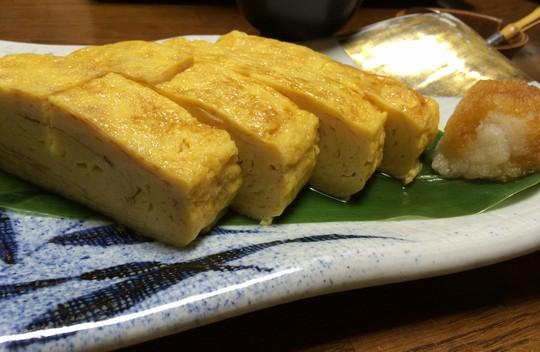 盛岡浜や海鮮料理卵焼き