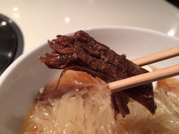 食道園の冷麺肉