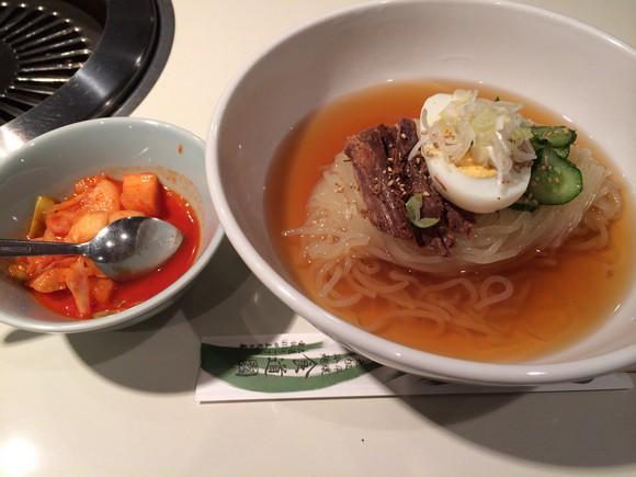 食道園の冷麺別辛