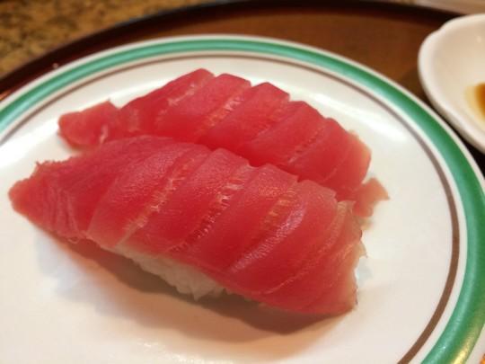グァム寿司屋マグロ