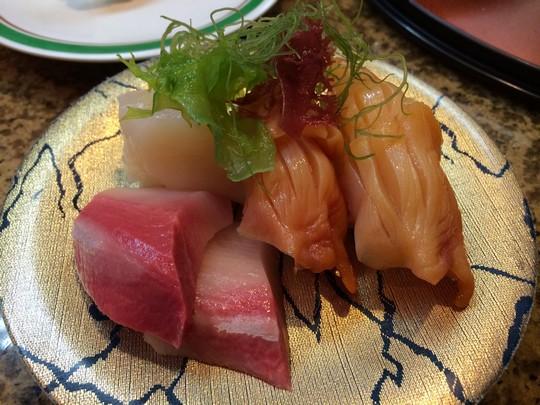 グァム寿司屋赤貝