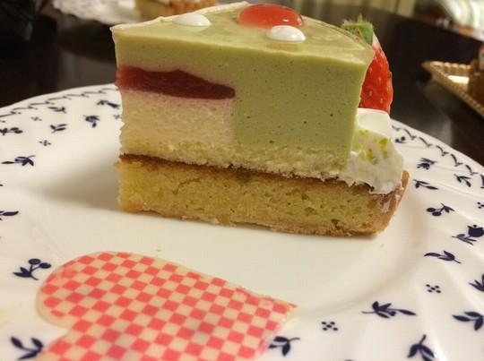 タルトタタンケーキカット2