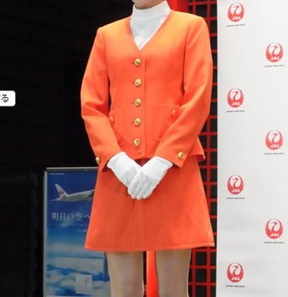JALミニスカ制服2