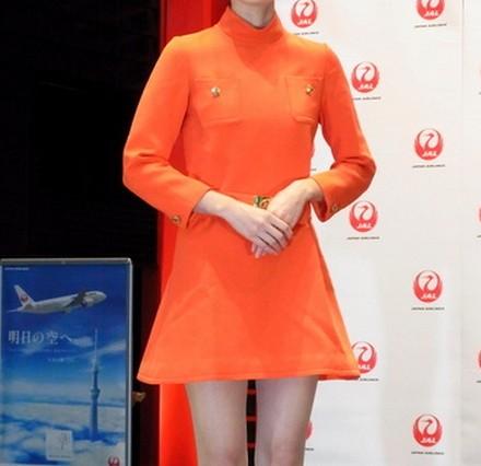 JALミニスカ制服
