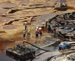 中国水汚染