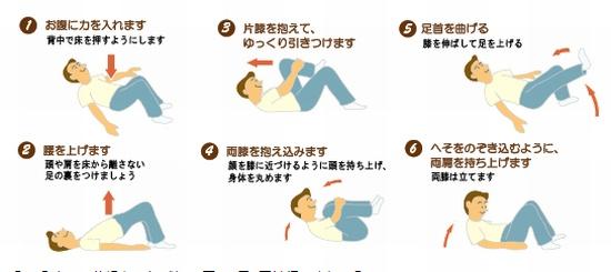 ぎっくり腰予防