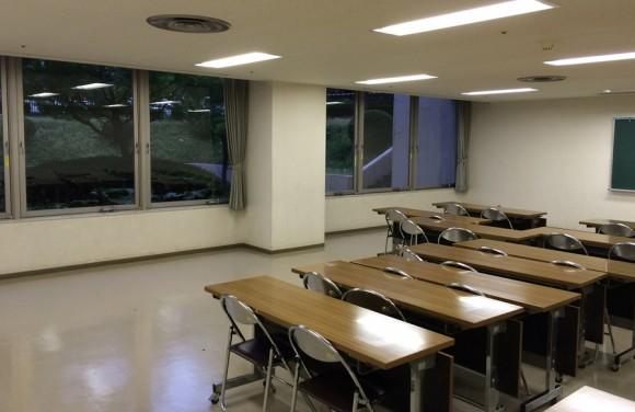 上田公民館でさんさ練習2