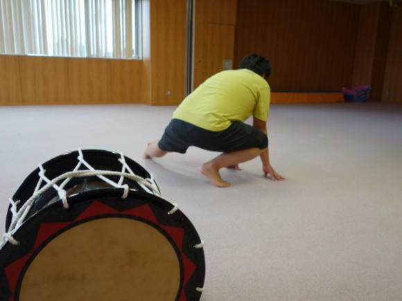 さんさ踊り練習1