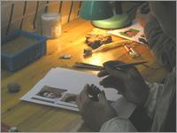 自分の人形制作マイフィギュア作り方