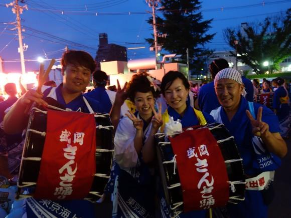 2014年盛岡さんさ踊り1日目1