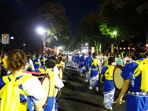 盛岡さんさ踊り2014年1日目