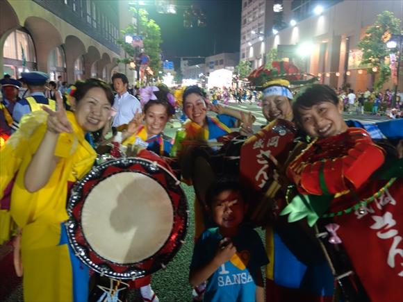 2014盛岡さんさ踊りパレード4日目6
