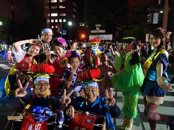 2014盛岡さんさ踊りパレード4日目3