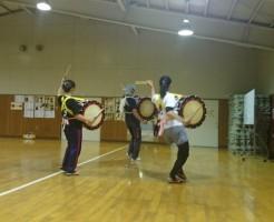 盛岡さんさ踊り練習