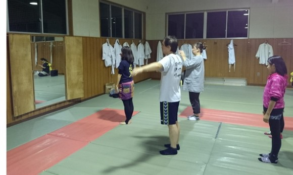 さんさ踊り初心者練習1
