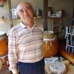 盛岡さんさ太鼓が出来るまで~高松武雄太鼓店に教えて頂きました