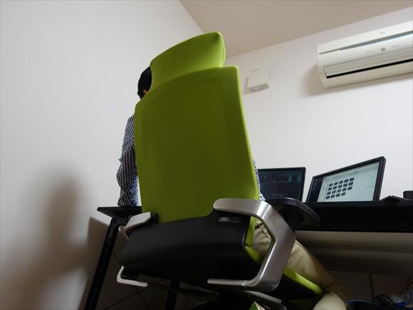 腰痛肩こり対策椅子投資後