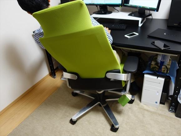 腰痛肩こり対策椅子ウィルクハーン