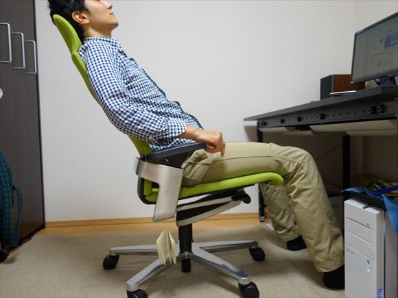 腰痛肩こり対策椅子ハイバック