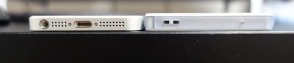 iPhone5sとXperiaZ3Compact違い1(厚さ)