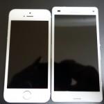 iPhone5sとXperiaZ3Compact選ぶならどっちだ(6plusは論外)