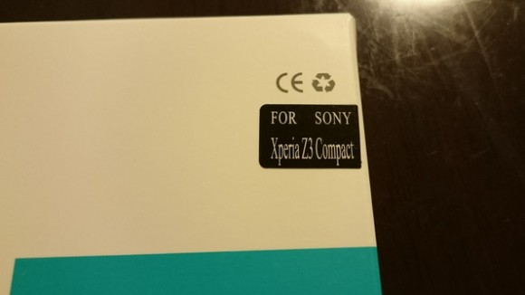 Nillkin製XperiaZ3Compact用ガラスフィルム