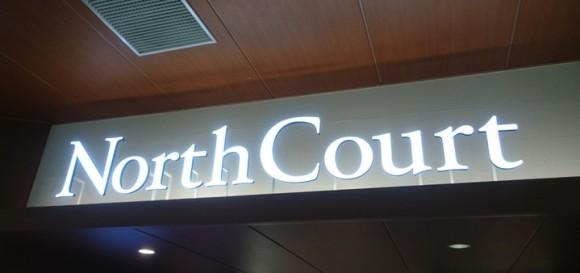 ノースコート(North Court)入口
