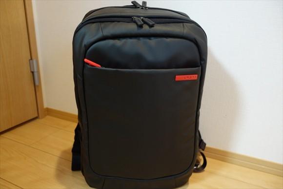 ノートPCVAIOPro13用リュック荷物詰め完了